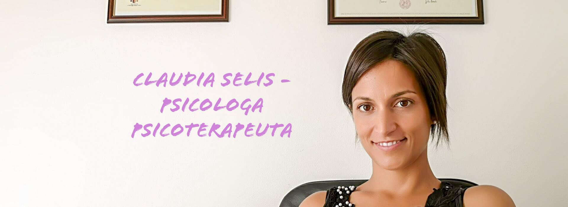 Claudia Selis - Psicologa Psicoterapeuta Oristano